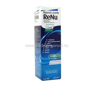 ReNu MultiPlus р-р д/конт.линз универсал фл.240мл N1 Bausch & Lomb Incorporated ИТАЛИЯ