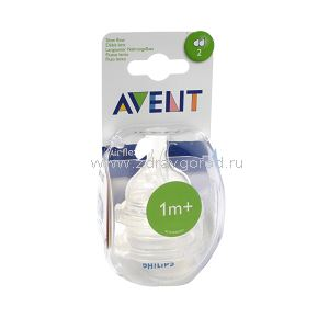 Avent Philips арт 82820(SCF632/27) соска с 1 мес. медлен. поток N2 Philips Electronics UK Ltd Guildford Surrey Philips Consumer Lifestyle СОЕДИНЕННОЕ КОРОЛЕВСТВО