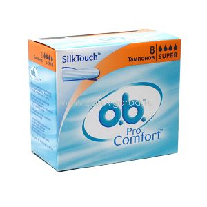 O.B. Pro comfort super тамп. N8 Johnson & Johnson Sante Beaute France S.A.S. ФРАНЦИЯ