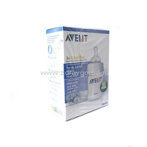 Avent Philips арт.86890 бутылочка д/кормл. 125 мл N3 Philips Electronics UK Ltd Guildford Surrey Великобритания