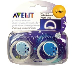 Avent Philips арт 86457/SCF176/18 соска пустыш. силикон. ночная с 0 до 6 мес. N2 Philips Electronics UK Ltd Guildford Surrey Philips Consumer Lifestyle Великобритания
