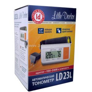 Little Doctor LD 23 L тонометр автомат. увелич.манж. с адаптером N1 Little Doctor International Сингапур