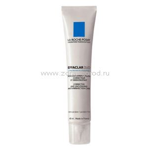 La Roche-Posay Эфаклар Duo плюс крем - гель корректир. д/пробл.кожи лица туба40мл N1 Kocmetic Activ Prodicsion La Roche-Posay Laboratoire Pharmaceutique ФРАНЦИЯ