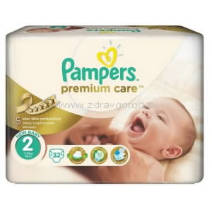 Pampers Premium care New Baby mini подгузник д/дет. 3-6 кг N32 Procter & Gamble ГЕРМАНИЯ
