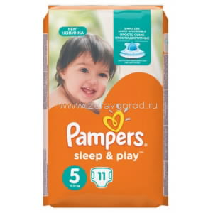 Pampers Sleep&Play Junior подгузник д/дет. 11-18 кг [5] N11 Procter & Gamble РОССИЯ